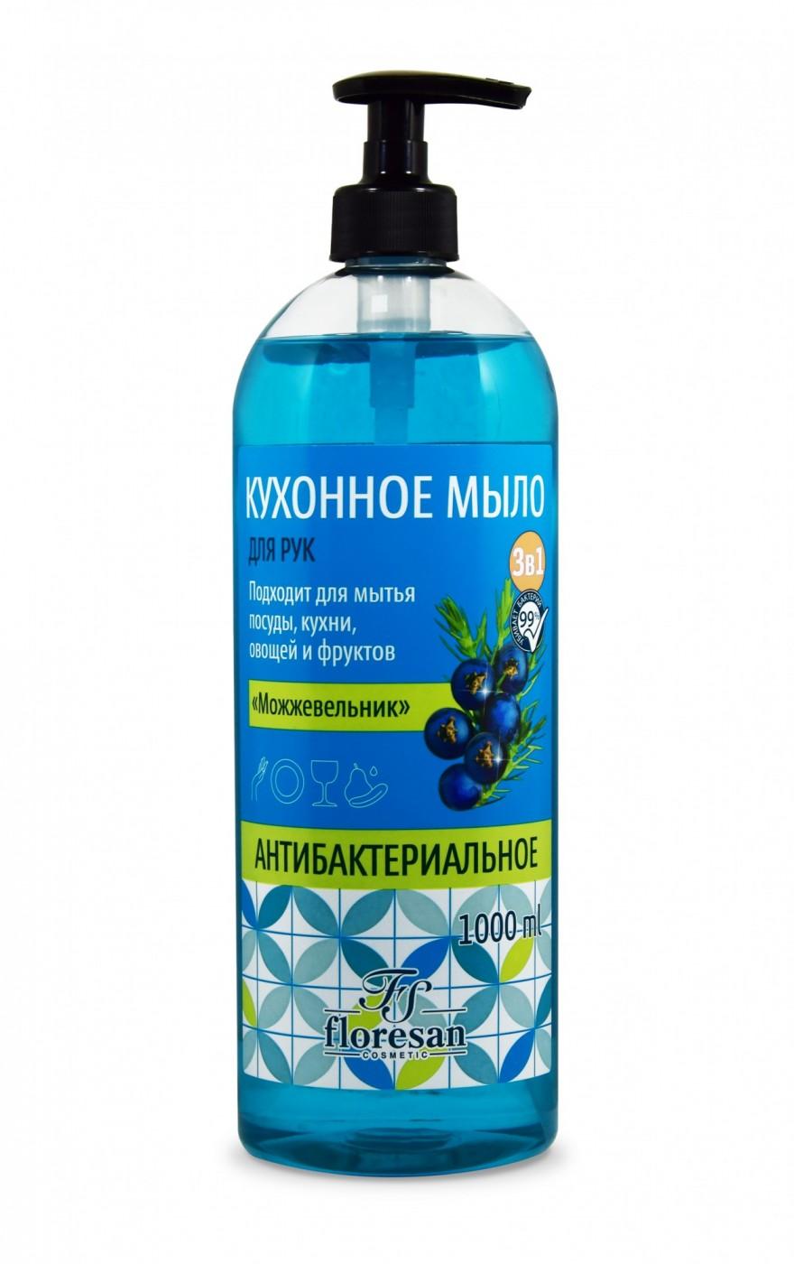 Кухонное мыло для рук  3в1  «Можжевельник» антибактериальное, 1000 мл